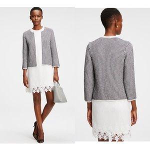 Ann Taylor Marled Sweater Jacket